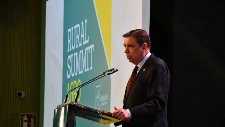 Luis Planas en Rural Summit Agro. EFE